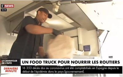 Un food truck pour nourrir les routiers